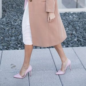 Banana Republic pink heels